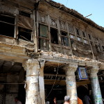 The very old building where zabib-cafe Hadji Zbale