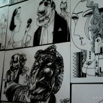 The permanent exhibition of talented, famous and loved by Iraqis (and late now) master of caricature Muayed Neama