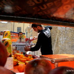 Merchant of fresh juice