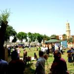 Park behind the old university. Ottoman Kishle