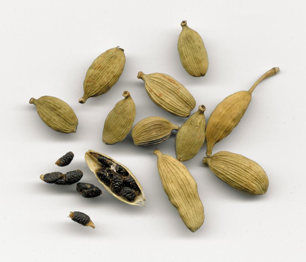 Cardamom grains