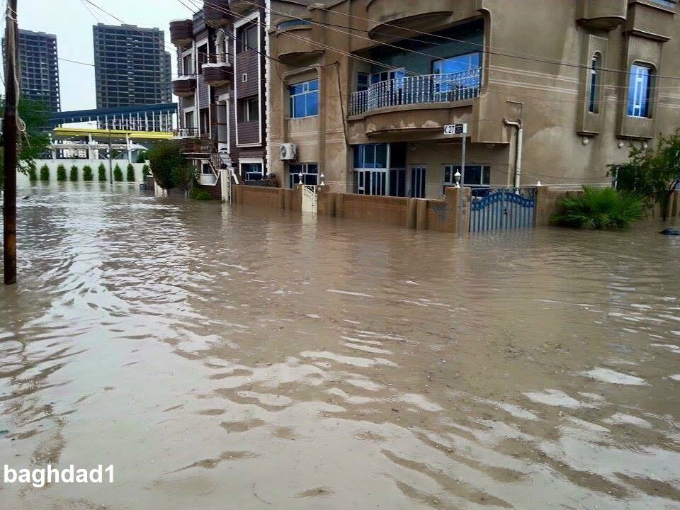 Потоп в Эрбиле