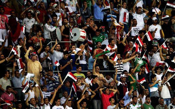Футбольные болельщики. Ирак